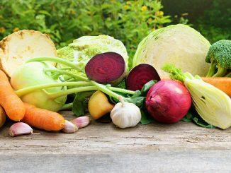 Gemüse im Winter
